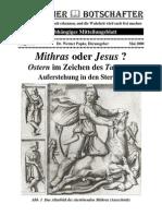 Mithras Oder Jesus Geschichte