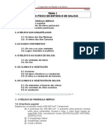 TEMA 2 O MAPA FÍSICO DE ESPAÑA E DE GALICIA