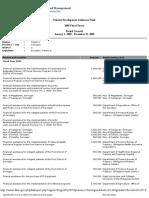 2005 PDAF Report - Escudero
