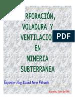 4 Perforacion Voladura y Ventilacion