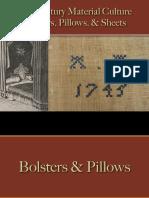 Bedding - Pillows & Bolsters