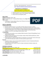 savannah resume