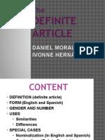 Definite Article Presentation