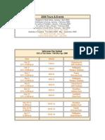 cricket india schedule 2009-10