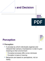 Perception & IDM