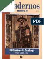 Cuadernos Historia 16, nº 087 - El Camino de Santiago