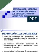 ESTUDIO DEL EFECTO DE LA PRESIÓN def