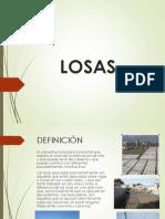 LOSAS ENTREGA