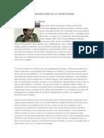 Colombia El pensamiento crítico en un mundo incierto