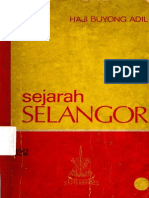 Sejarah Selangor