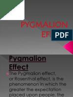 Pygmalion Effect