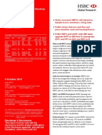 HSBC 09-10-13 India Diversified Financial Services