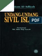 Undang-undang Sivil Islam