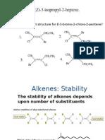 Alkenes, Alkynes pt 2(2)