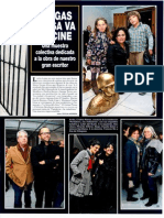 Vargas Llosa va al cine | ¡Hola! Perú 33 | 10-16.Ago.2011. Pp. 76-77