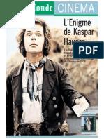 Herzog, Werner - El Enigma de Gaspar Hauser