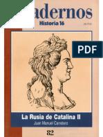 Cuadernos Historia 16, nº 082 - La Rusia de Catalina II