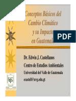 8. Conceptos Basicos Del Cambio Climatico y Su Impacto en Guatemala