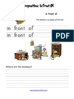 Preposition Front