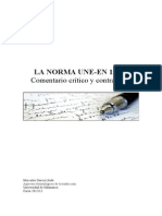 La Norma UNE 15038