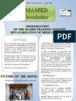 MAMED Newsletter - April 2009