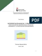 Interpretacion Musical y Creatividad-Tesis de Fco. Higueras