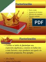 factorizacin