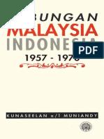 Hubungan Malaysia Indonesia 1957-1970