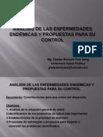 3.- Análisis enfermedades endémicas