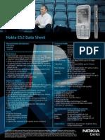 Nokia e52 Datasheet