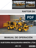 Manual Operacion Raptor Dh - Cerro Bayo