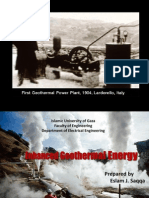 Geothermal Energy and Palestine