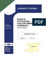 Piano di Protezione Civile ed Emergenza Comunale di Teramo – Documento finale