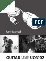 Behringer USB Interface Guitar Link UCG102 - P0198