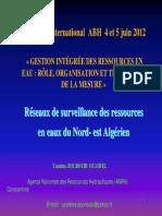 Mme.BOUROUBI_ANRH_Algérie