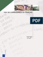 Plaquette Tcf Fr