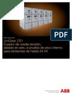 Catalogo Unigear ZS1 Español Celdas hasta 24kV