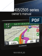 Garmin Nuvi 2405/2505 Series OM