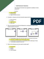 CLAD Homework 4 Questions