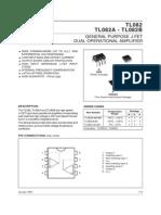 AMPLIFICADOR TLO82