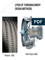 The Evolution of TurboMachinery Design