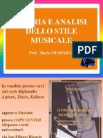 Analisi Dello Stile i 2 Stili Melodici