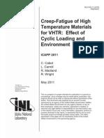 Creep-Fatigue of High Temperature Materials for VHTR.pdf