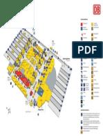 Koln Station Map