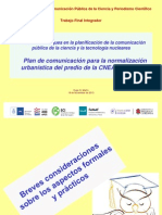 HUGO MARTIN ATOMICA CORDOBA NUEVOS ENFOQUES COMUNICACION CIENCIA Y TECNOLOGIA NUCLEARES EN CORDOBA