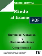 Miedo Al Examen