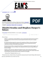 Dimitri Soudas and Stephen Harper's future - Capital Read, Inkless Wells, Uncategorized - Macleans