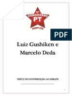 Texto Do 5. Congresso Pt