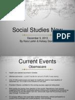social studies now