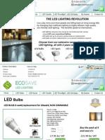 Ecosave LED Lighting